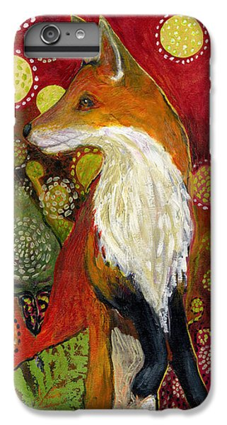 Wildlife iPhone 7 Plus Case - Fox Listens by Jennifer Lommers