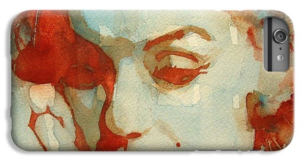 Red iPhone 7 Plus Case - Fragile by Paul Lovering