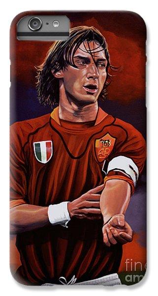 Sports iPhone 7 Plus Case - Francesco Totti by Paul Meijering