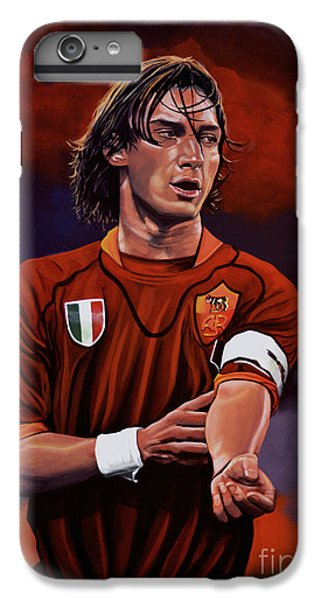 Francesco Totti IPhone 7 Plus Case by Paul Meijering