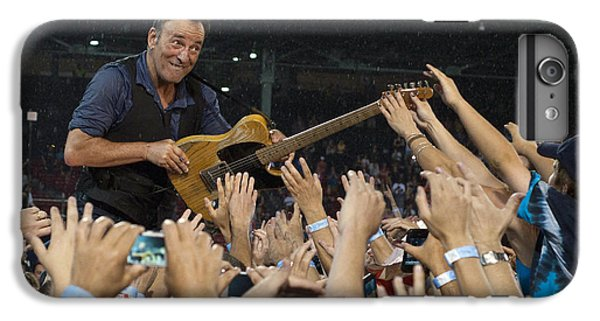 Bruce Springsteen iPhone 7 Plus Case - Frenzy At Fenway by Jeff Ross
