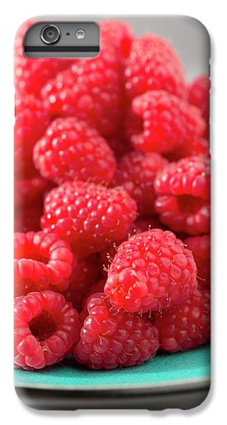 Fresh Raspberries IPhone 7 Plus Case by Aberration Films Ltd