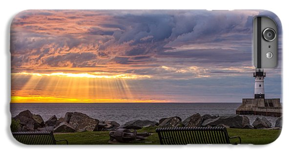 Lake Superior iPhone 7 Plus Case - Front Row Seats by Mary Amerman