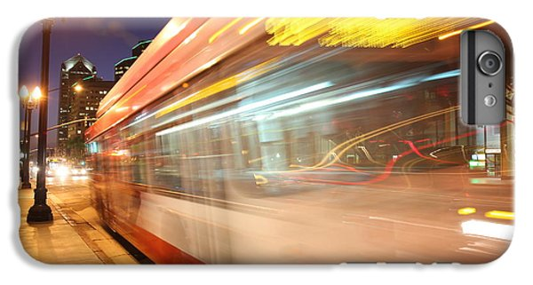 IPhone 7 Plus Case featuring the photograph Fun At The Bus Stop by Nathan Rupert
