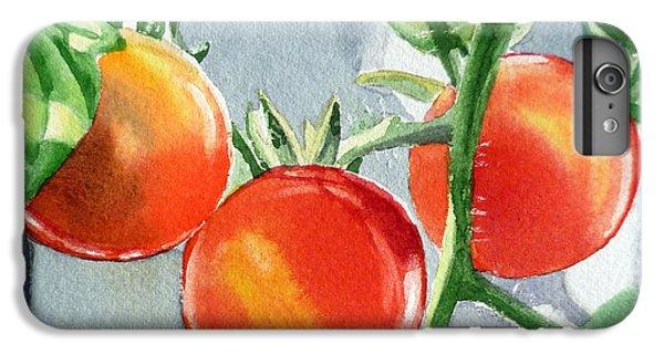 Garden Cherry Tomatoes  IPhone 7 Plus Case by Irina Sztukowski