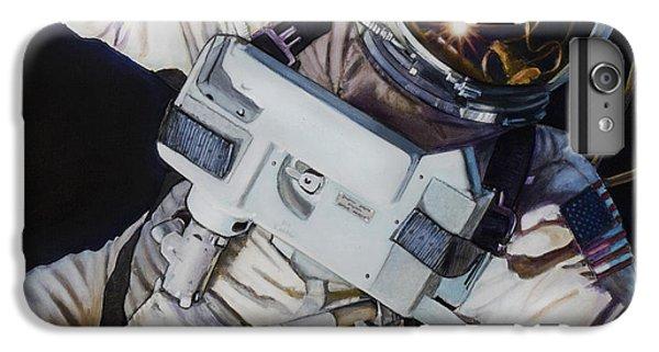 Moon iPhone 7 Plus Case - Gemini Iv- Ed White by Simon Kregar