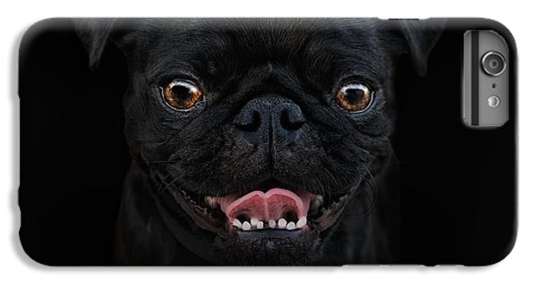 Pug iPhone 7 Plus Case - Gimme A Smile by Joachim G Pinkawa