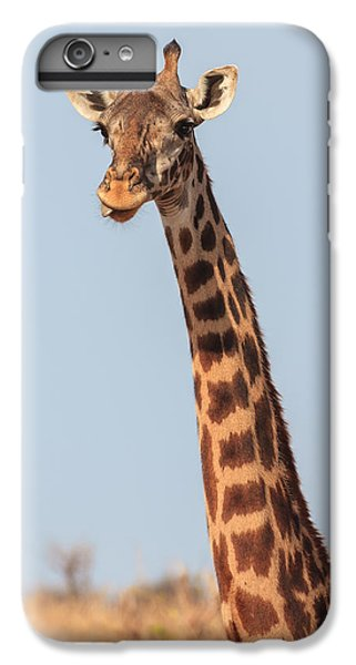 Giraffe Tongue IPhone 7 Plus Case by Adam Romanowicz