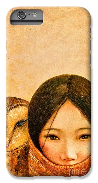 iPhone 7 Plus Case - Girl With Owl by Shijun Munns