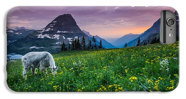 Goat iPhone 7 Plus Case - Glacier National Park 4 by Larry Marshall