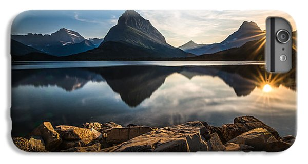Mountain iPhone 7 Plus Case - Glacier National Park by Larry Marshall