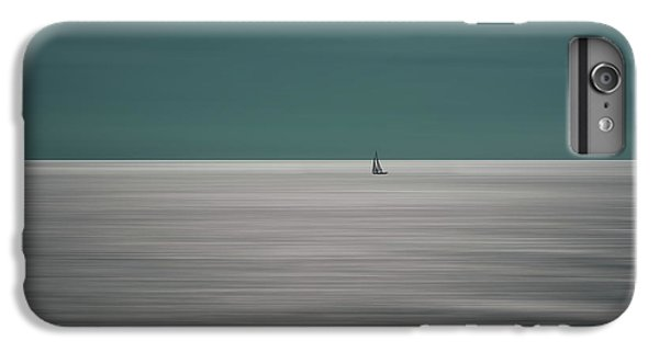 Boats iPhone 7 Plus Case - Going For The Horizon by Bernardine De Laat