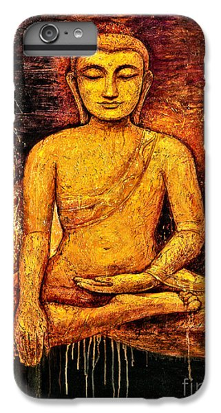 iPhone 7 Plus Case - Golden Buddha 2 by Shijun Munns