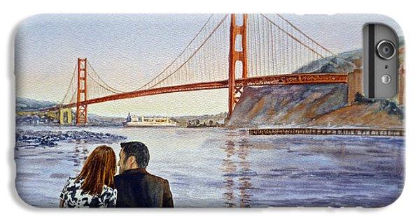 Golden Gate Bridge San Francisco - Two Love Birds IPhone 7 Plus Case