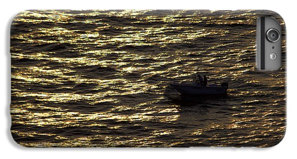 IPhone 7 Plus Case featuring the photograph Golden Ocean by Miroslava Jurcik
