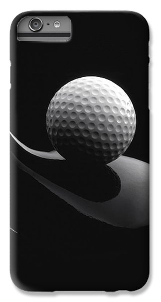 Golf iPhone 7 Plus Case - Golf Ball And Club by John Wong