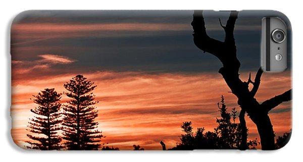 IPhone 7 Plus Case featuring the photograph Good Night Trees by Miroslava Jurcik