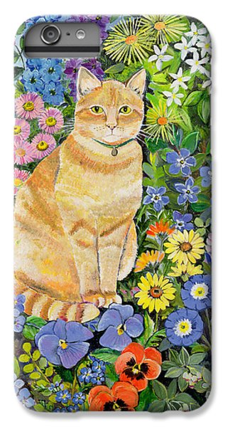 Garden iPhone 7 Plus Case - Gordon S Cat by Hilary Jones
