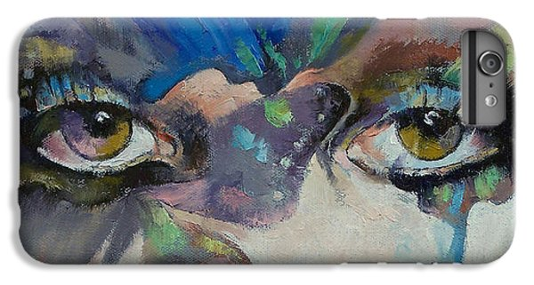 Gothic Butterflies IPhone 7 Plus Case by Michael Creese