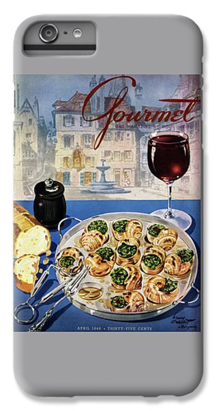 Gourmet Cover Illustration Of A Platter IPhone 7 Plus Case