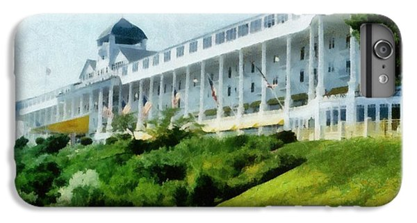 Lake Superior iPhone 7 Plus Case - Grand Hotel Mackinac Island Ll by Michelle Calkins