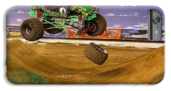 IPhone 7 Plus Case featuring the photograph Grave Digger Loses A Wheel by Nathan Rupert