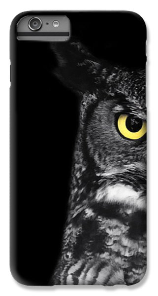 Owl iPhone 7 Plus Case - Great Horned Owl Photo by Stephanie McDowell
