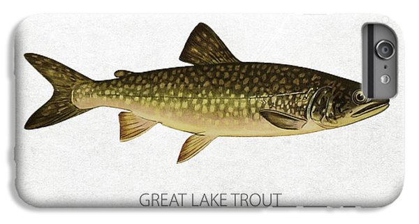 Lake Superior iPhone 7 Plus Case - Great Lake Trout by Aged Pixel