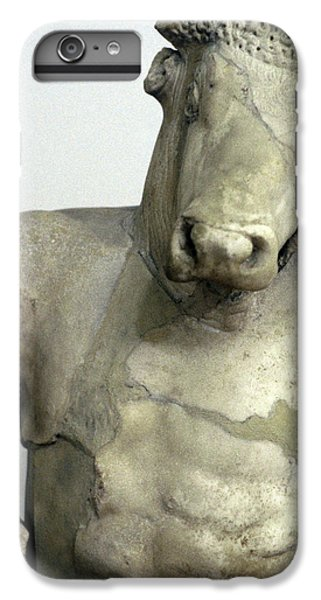Minotaur iPhone 7 Plus Case - Greece, Athens Classical Era Marble by Jaynes Gallery