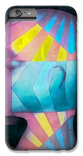 Grid Head IPhone 7 Plus Case by Jeff  Gettis