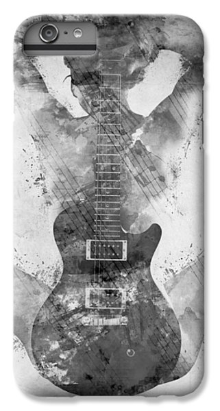 Guitar Siren In Black And White IPhone 7 Plus Case