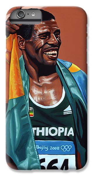 Athletes iPhone 7 Plus Case - Haile Gebrselassie by Paul Meijering