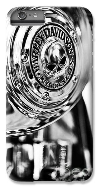 Harley Davidson Skull Casing IPhone 7 Plus Case by Tim Gainey