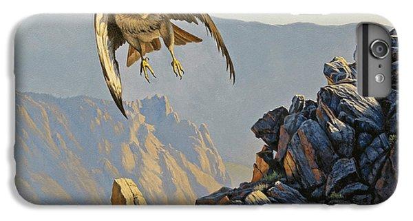 Hawk iPhone 7 Plus Case - Hawk Above Beartooth Pass by Paul Krapf