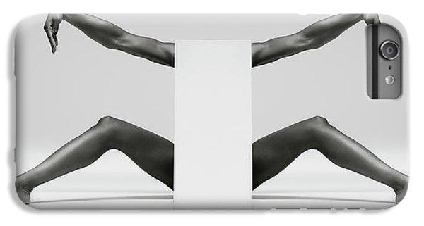 Crane iPhone 7 Plus Case - Headless Symmetry by Ross Oscar