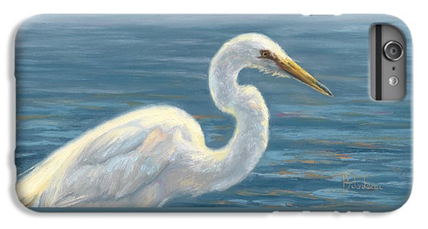 Heron Light IPhone 7 Plus Case by Lucie Bilodeau