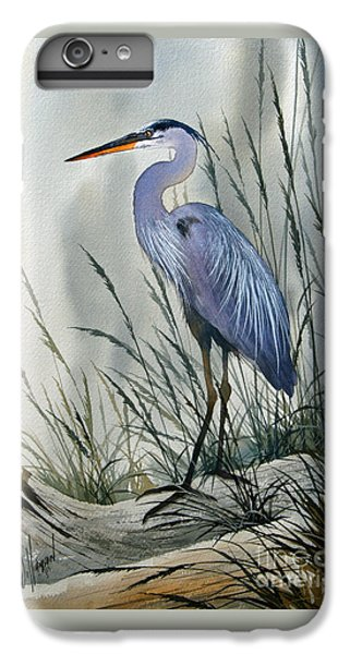 Heron iPhone 7 Plus Case - Herons Sheltered Retreat by James Williamson