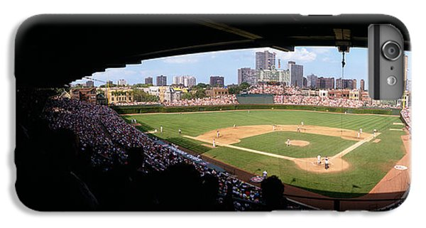 Wrigley Field iPhone 7 Plus Case - High Angle View Of A Baseball Stadium by Panoramic Images