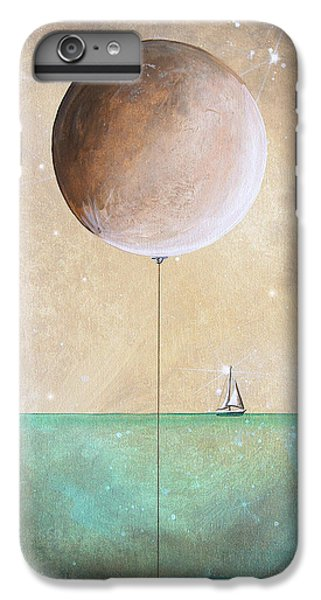 Moon iPhone 7 Plus Case - High Tide by Cindy Thornton