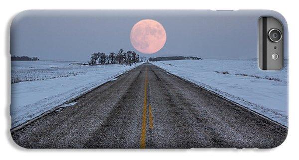 Moon iPhone 7 Plus Case - Highway To The Moon by Aaron J Groen