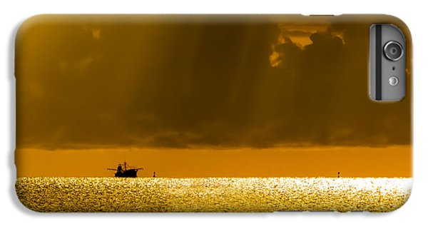Shrimp Boats iPhone 7 Plus Case - Home Stretch by Marvin Spates