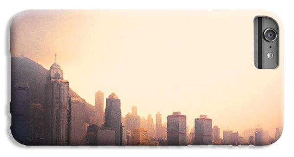 Hong Kong iPhone 7 Plus Case - Hong Kong Harbour Sunset by Pixel  Chimp