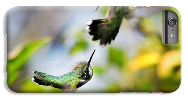 Hummingbirds Ensuing Battle IPhone 7 Plus Case by Christina Rollo