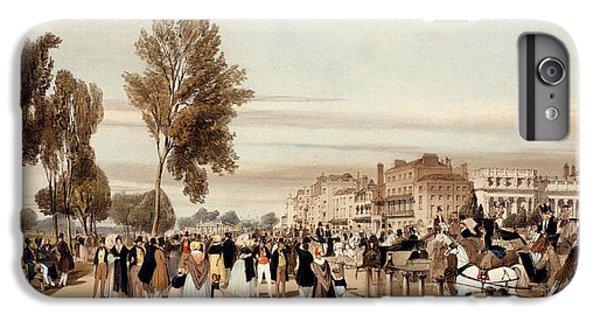 Hyde Park iPhone 7 Plus Case - Hyde Park, Towards The Grosvenor Gate by Thomas Shotter Boys