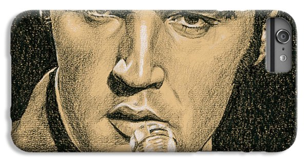 Elvis Presley iPhone 7 Plus Case - If You're Looking For Trouble by Rob De Vries