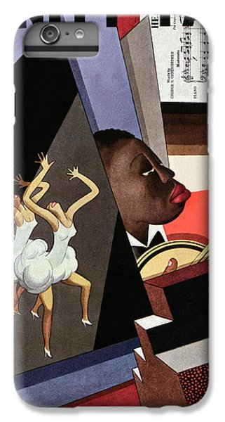 Illustration Of Harlem Entertainers IPhone 7 Plus Case by William Bolin