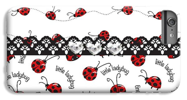 Innocent Ladybugs  IPhone 7 Plus Case by Debra  Miller