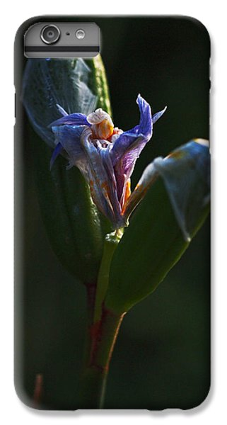 Iris Emerging  IPhone 7 Plus Case by Rona Black
