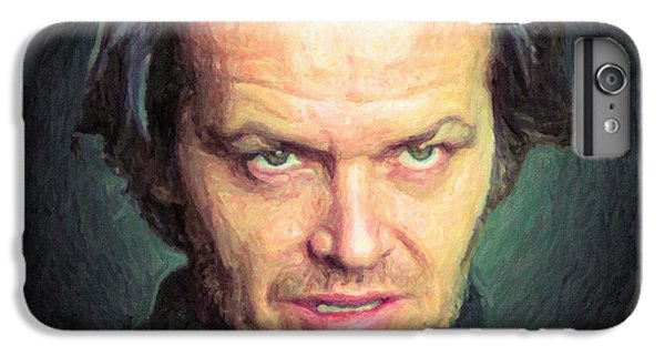 Jack Torrance IPhone 7 Plus Case by Taylan Apukovska