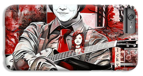 Jack White IPhone 7 Plus Case by Joshua Morton